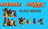 fazbear_pixel_art__starfox_fnaf_crossove
