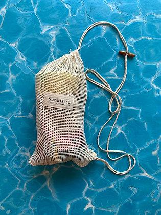 תיק לונג רשת SUNKISSED- SMALL MESH BAG