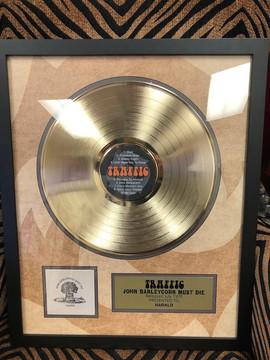 "12"" Gold DLX Record Award"