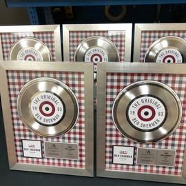 "7"" Platinum DLX Record Award"