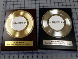 """7"""" Record Award Plaques"""