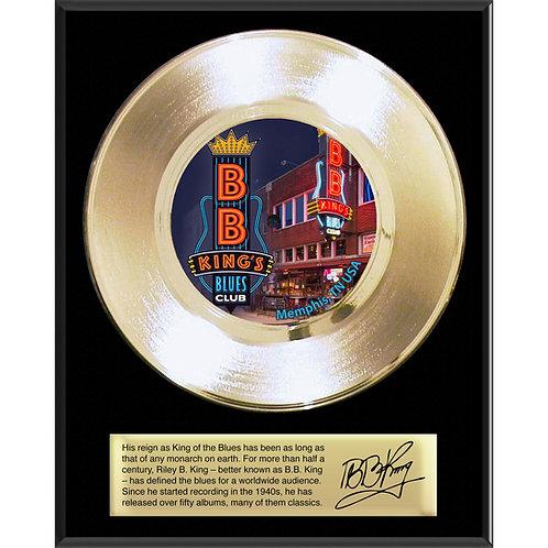 "7"" Classic Gold Record Plaque"