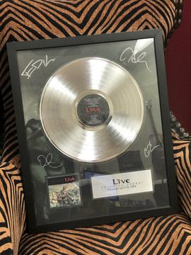 "12"" Platinum DLX Record Award"