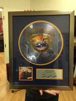 "Custom 12"" Record Award"