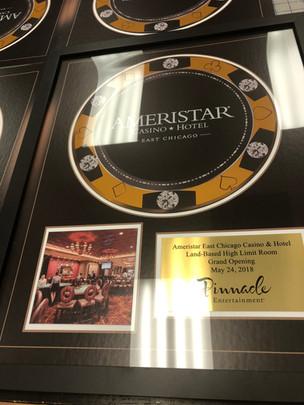 Custom Poker Chip Award