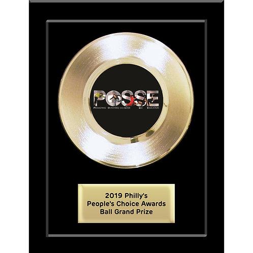 "7"" Basic Gold Record Award"
