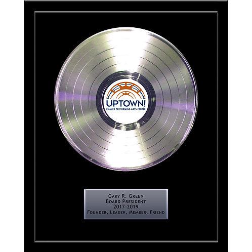 "12"" Basic Platinum Record Award"