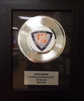 "7"" Basic Platinum Record Award"