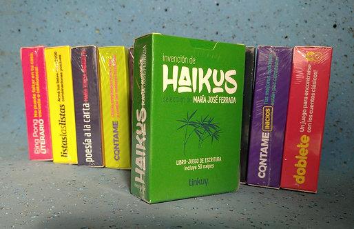 INVENCIÓN DE HAIKUS