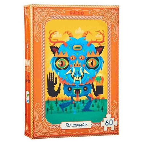 Mini Puzzle El Monstruo 60p