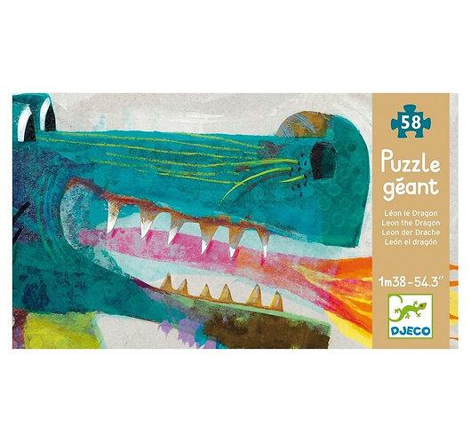 Puzzle León el Dragón