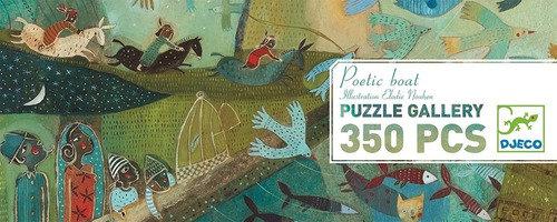 Puzzle Poetic boat 350p