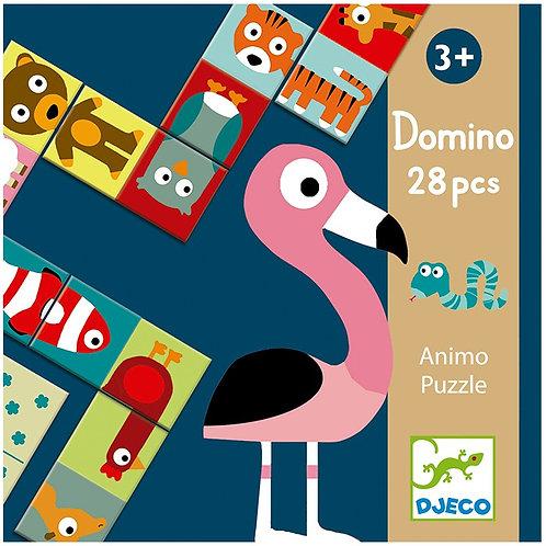 Dominó Puzzle 28p Animales