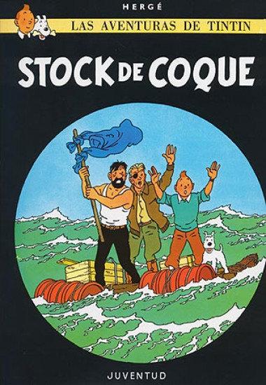 Tintín - Stock de coque