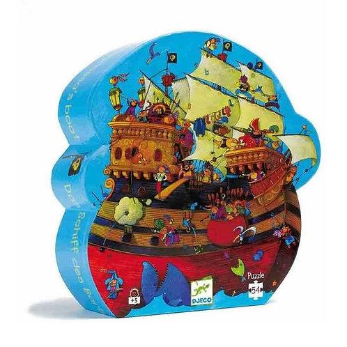 Puzzle El barco pirata 36p