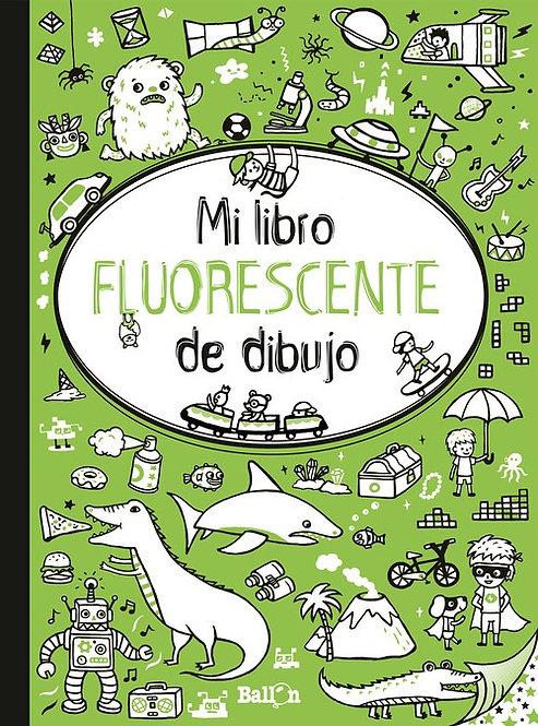 Mi libro fluorescente de dibujo verde