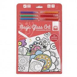 Magic Glass Art Mandalas