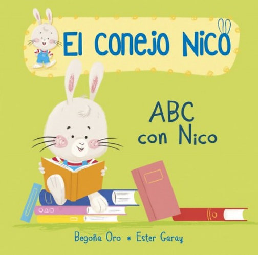 El conejo Nico 3. ABC con Nico