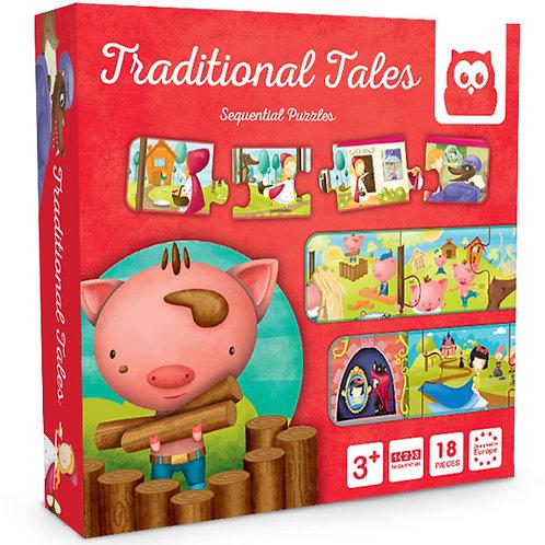 Puzzle Cuentos Tradicionales 18p
