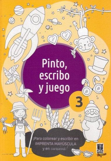 Pinto, escribo y juego 3