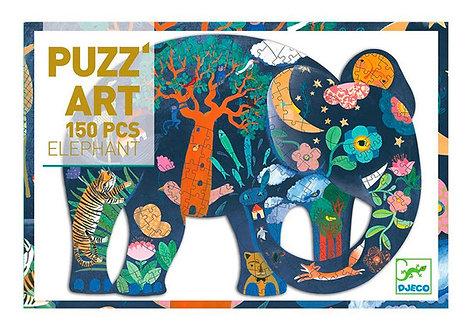 Puzzle Elephant 150p