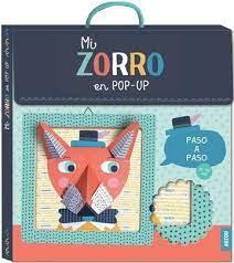 Mi cuaderno de artista Zorro (Pop up)