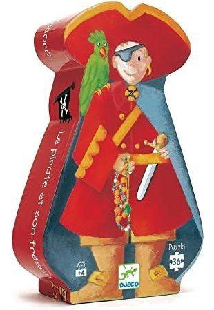 Puzzle El pirata y su tesoro 36p