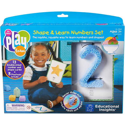 Shape & Learn Number Set