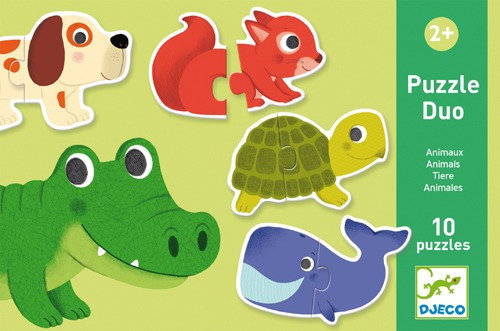 Puzzle Duo Animales x10