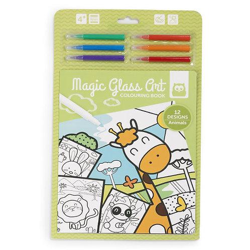 Magic Glass Art Animales