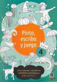 Pinto, escribo y juego 4