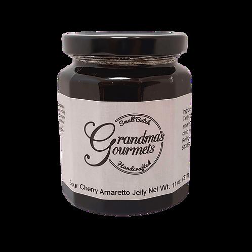 Sour Cherry Amaretto Jelly
