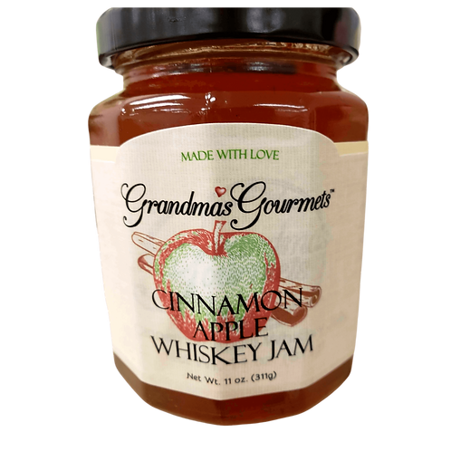 Cinnamon Apple Whiskey Jelly