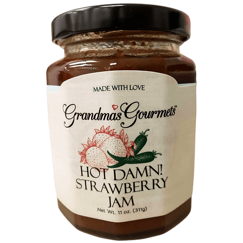 Hot Damn Strawberry Jam