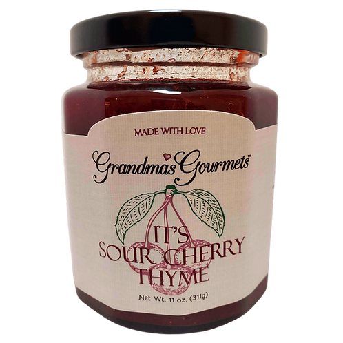 It's Sour Cherry Thyme Jam