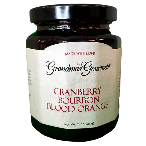 Cranberry Blood Orange Bourbon Jam