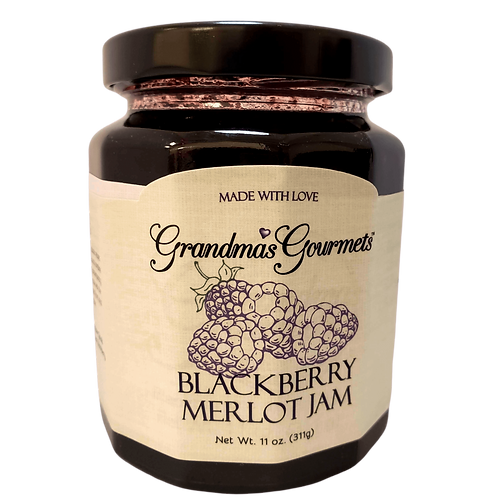 Blackberry Merlot Jam