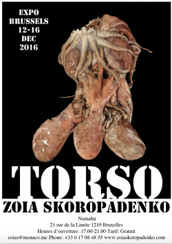 TORSO EXHIBITION in Brussels