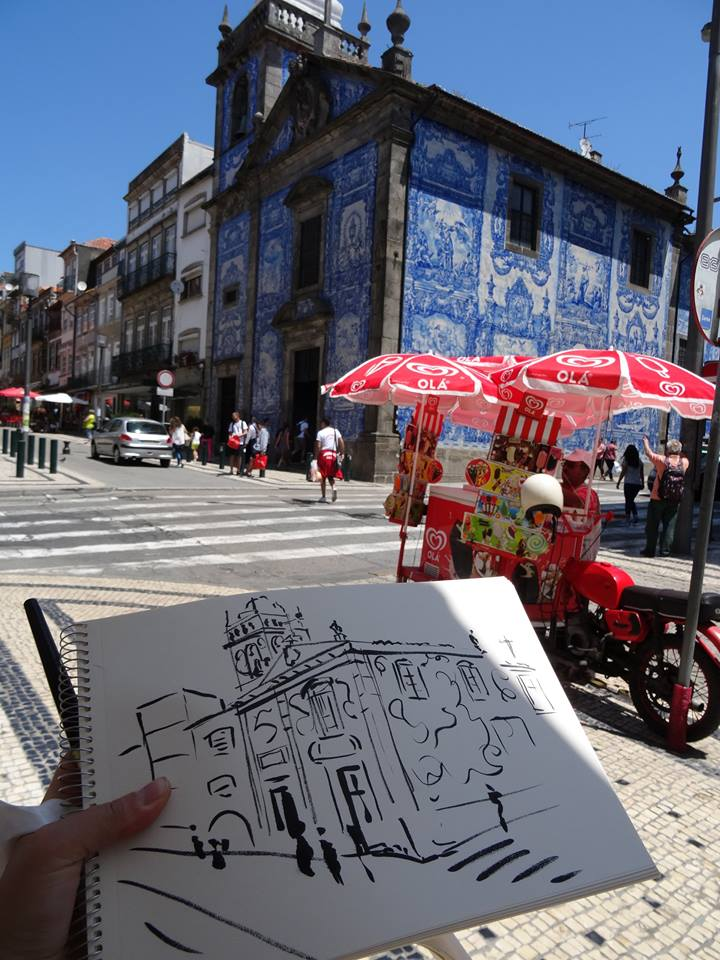 Zoia in Porto. Portugal. July 2015