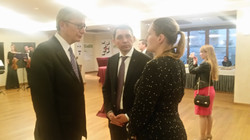 Zoia with Ambassador of Ukraine