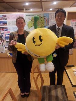Zoia going to  Fukushima in November
