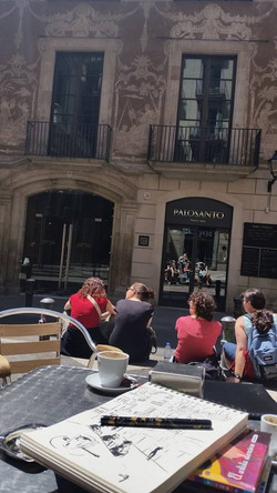 Zoia in Barcelona. May 2015