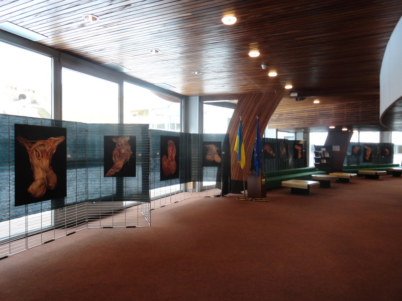 TORSO Exhibition. Council of Europe