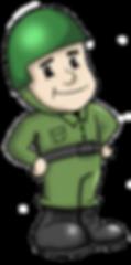 Mascote Soldier