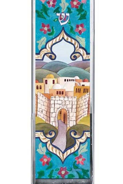 CM 67-Jerusalem Car Mezzuzah