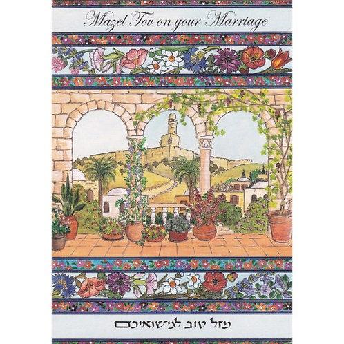 HJ 335-Wedding Greeting Card