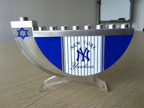 Yankees Menorah