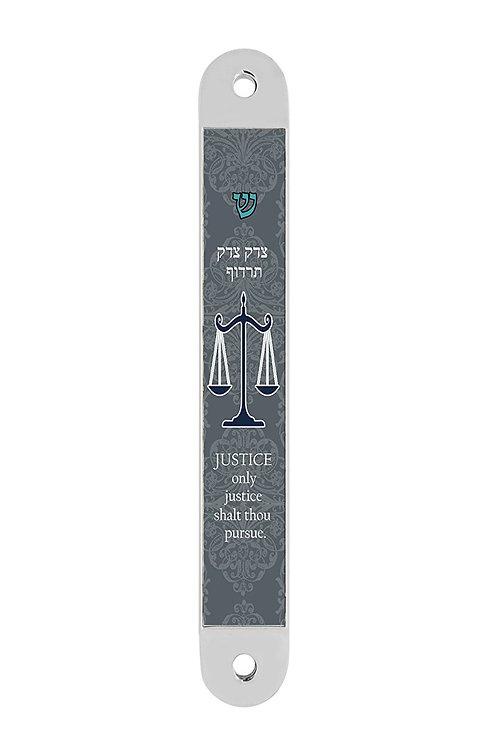 GMZ 131-Scales of Justice Mezuzah