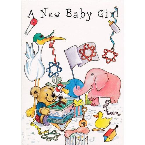 HJ 224-Baby Greeting Card