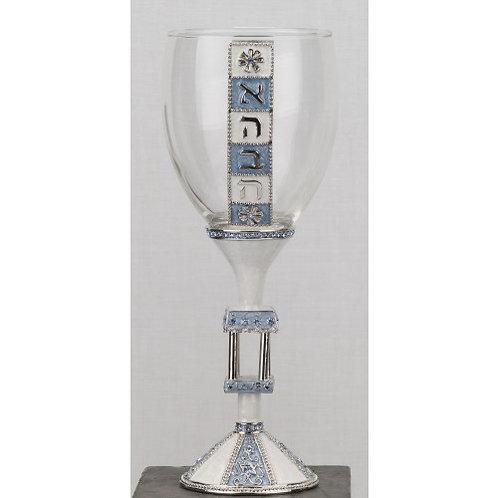 GEM KC-01 Blue Wedding Kiddush Cup